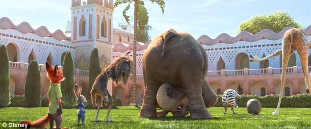 Money maker: Disney's Zootopia has reeled in just over $1 billion globally in its 17 weeks of release, the second film in 2016 to achieve the milestone after Disney's Captain America: Civil War
