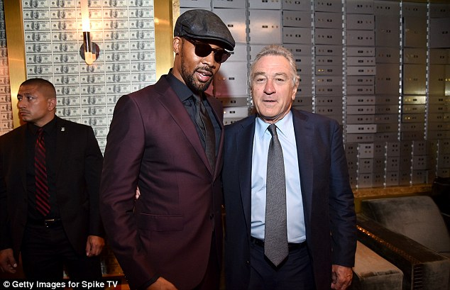 Say cheese! RZA and Robert De Niro shared a snap together