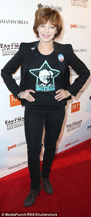 Charitable! Actresses Julia Faye West, 28, and Frances Fisher, 64, aldo attended the star-studded animal benefit