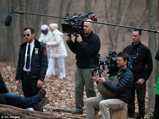 More stars coming: Acclaimed U.S. TV drama The Leftovers will film its third and final season in Melbourne over the next three months starringJustin Theroux (pictured left filming season 2)