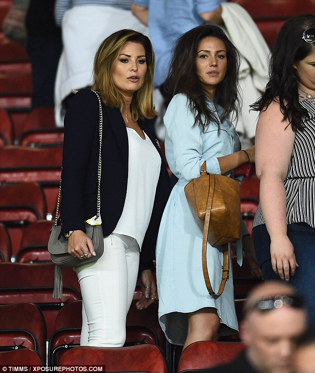 Close-knit clan: Michelle has become good friends with Mark's older sister Jessica, who quit TOWIE earlier this year