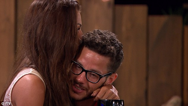 Getting close: Scott had recently confessed his feelings for Kady but admitted that he didn't trust her