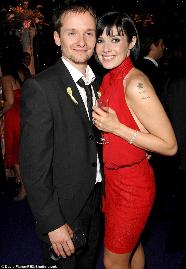 Her first love: She married former EastEnders star Jack ryder in 2002 before the couple parted way in 2009