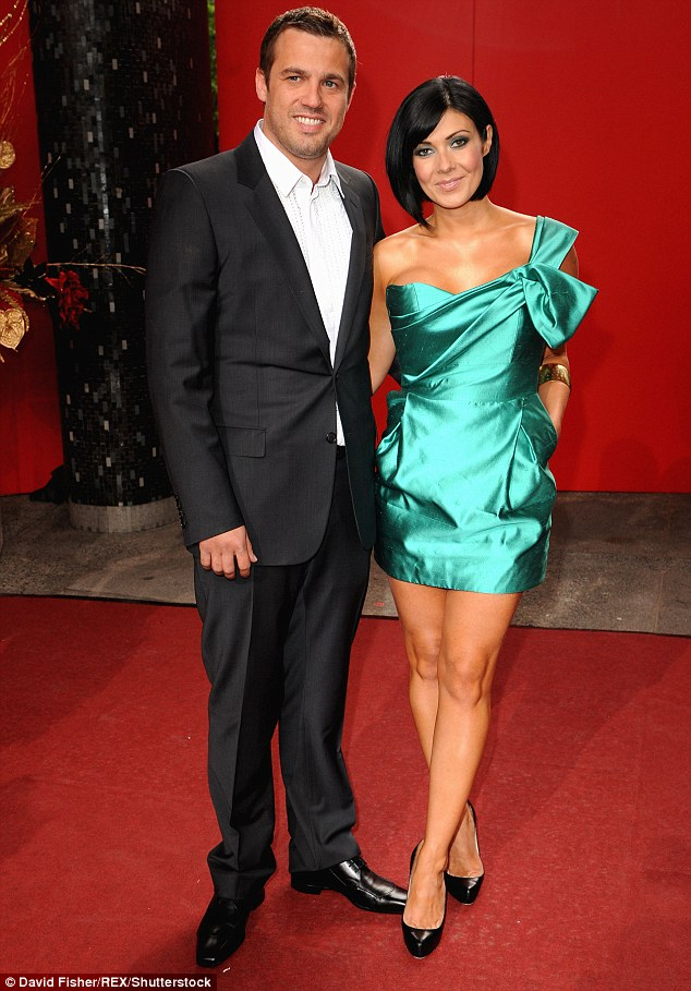 Second time around: Following that Kym was married Hollyoaks star Jamie Lomas from 2012-2014
