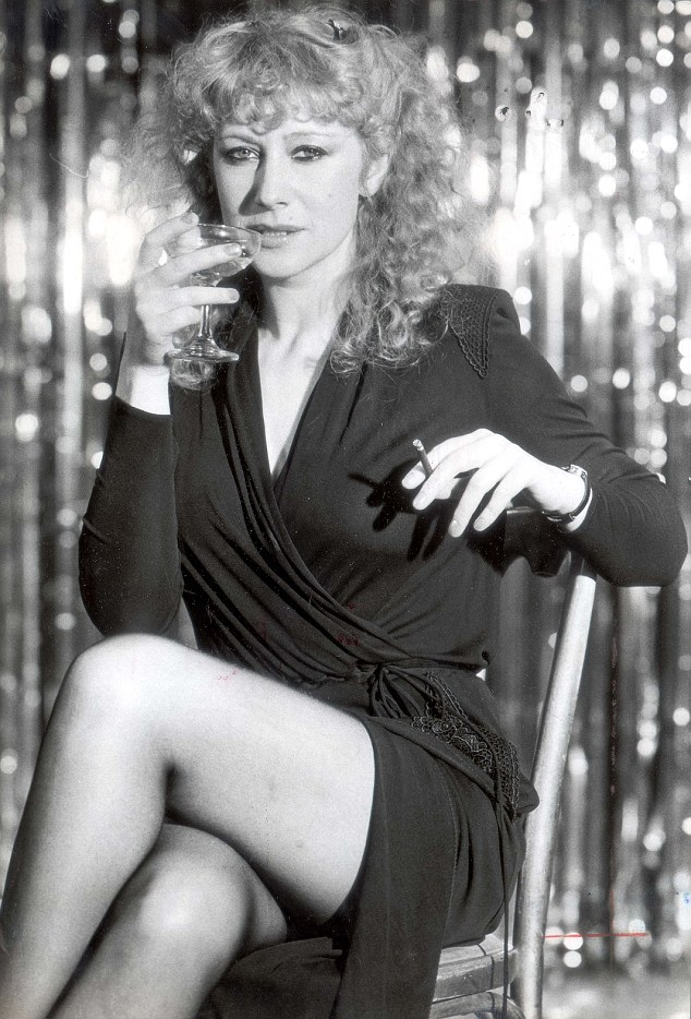 The Eye In The Sky actress, pictured in 1979, said that for her, the best part about getting older is 'being relieved of the whole sex-symbol tag'