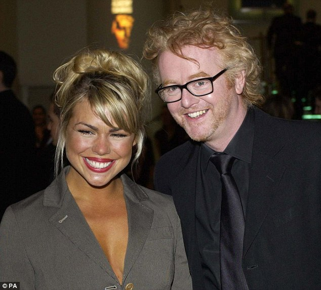 Billie Piper with first husband Chris Evans, 16 years her senior.Three years after marrying in Vegas, the couple split