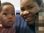"""Enterprise News and Pictures                                                              31/5/16 Pic shows: Deonne Dickerson, 36, (left) and Michelle Gregg, 32, (right) pictured with their four-year-old son Isiah Nasir Dickerson (centre) and his siblings, who fell 15 feet into the Cincinnati Zoo Gorilla World exhibit leading to the fatal shooting of Harambe the gorilla. The 17-year-old western lowland silverback gorilla was killed after dragging the boy through a moat inside the gorilla enclosure when the zoo security team responded quickly to save the child from being killed by the 400lb animal. Father-of-four Mr Dickerson and Michelle Gregg, have been identified as the boy's parents. Mr Dickerson is pictured here on his """"open"""" Facebook page with his family. See story..."""