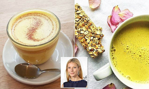 Gwyneth Paltrow loves TURMERIC lattes, caffeine alternative that's packed with health