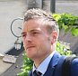 CHANTILLY, FRANCE - JUNE 06:  Jamie Vardy looks on as the England team arrive for UEFA Euro 2016 at their team hotel on June 6, 2016 in Chantilly, France. England's opening match at the European Championship is against Russia on June 11.  (Photo by Michael Regan - The FA/The FA via Getty Images)
