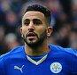 Riyad Mahrez goal 1-0 Barclays Premier league, Leicester City v Swansea. Picture Graham Chadwick.
