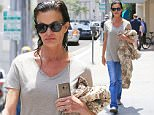 Picture Shows: Janice Dickinson  June 06, 2016\n \n Former model Janice Dickinson got her hair done in Beverly Hills, California. She was wearing a simple beige t-shirt with jeans, and left the salon with wet hair. \n \n Non-Exclusive\n UK RIGHTS ONLY\n \n Pictures by : FameFlynet UK © 2016\n Tel : +44 (0)20 3551 5049\n Email : info@fameflynet.uk.com