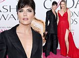 Selma Blair arrives at the CFDA Fashion Awards at the Hammerstein Ballroom on Monday, June 6, 2016, in New York. (Photo by Evan Agostini/Invision/AP)