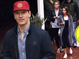 *EXCLUSIVE* Sydney, NSW - US actor Michael Fassbender is seen leaving Kingpin Bowling in Darling Harbour with rumoured girlfriend Alicia Vikander and her younger sister in Sydney, Australia. Fassbender is currently in the country filming 'Alien'. \nBackGrid 4 JUNE 2016 \nFor content licensing please contact BackGrid Australia at:\nPhone: +61 2 9212 2622 / +61 410 818 463\nEmail:  photos@backgrid.com.au