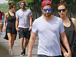 06/04/2016\nEXCLUSIVE: Bradley Cooper and Irina Shayk spotted on a stroll in Tribeca, New York City. Bradley, a four time Academy Award nominee, was spotted holding hands with his girlfriend of 14 months, Russian super model, Irina Shayk. Irina, along with fellow models, Bella Hadid, and Lily Aldridge are the face of the fall/winter 2016 campaign for fashion power house Givenchy.\nPlease byline:TheImageDirect.com\n*EXCLUSIVE PLEASE EMAIL sales@theimagedirect.com FOR FEES BEFORE USE