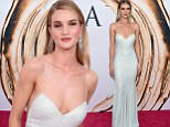 NEW YORK, NY - JUNE 06:  Model Rosie Huntington-Whiteley attends the 2016 CFDA Fashion Awards at the Hammerstein Ballroom on June 6, 2016 in New York City.  (Photo by Jamie McCarthy/Getty Images)