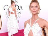 eURN: AD*208772069  Headline: 2016 CFDA Fashion Awards - Arrivals Caption: NEW YORK, NY - JUNE 06:  Karlie Kloss attends the 2016 CFDA Fashion Awards at the Hammerstein Ballroom on June 6, 2016 in New York City.  (Photo by Jamie McCarthy/Getty Images) Photographer: Jamie McCarthy  Loaded on 07/06/2016 at 00:35 Copyright: Getty Images North America Provider: Getty Images  Properties: RGB JPEG Image (30125K 2237K 13.5:1) 2570w x 4001h at 96 x 96 dpi  Routing: DM News : GroupFeeds (Comms), GeneralFeed (Miscellaneous) DM Showbiz : SHOWBIZ (Miscellaneous) DM Online : Online Previews (Miscellaneous), CMS Out (Miscellaneous)  Parking: