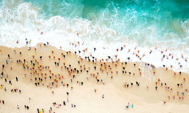 Aerial photographer Tommy Clarke captures STUNNING ocean landscapes