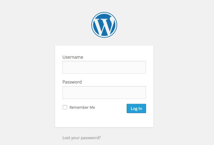 13-welcome-wordpress-login
