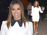 Los Angeles, CA - Newly married Eva Longoria is all smiles as she leaves Hillary Clinton's fundraiser at The Greek Theatre in Los Angeles. AKM-GSI          June 6, 2016 To License These Photos, Please Contact : Maria Buda (917) 242-1505 mbuda@akmgsi.com sales@akmgsi.com or  Mark Satter (317) 691-9592 msatter@akmgsi.com sales@akmgsi.com www.akmgsi.com