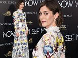 "Lizzy Caplan attends the world premiere of ""Now You See Me 2"" at AMC Loews Lincoln Square on Monday, June 6, 2016, in New York. (Photo by Charles Sykes/Invision/AP)"
