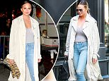 Picture Shows: Chrissy Teigen  June 07, 2016\n \n Celebrities attend a Hillary Clinton fundraising event in Los Angeles, California.\n \n Non Exclusive\n UK RIGHTS ONLY\n \n Pictures by : FameFlynet UK © 2016\n Tel : +44 (0)20 3551 5049\n Email : info@fameflynet.uk.com