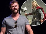 """PHILADELPHIA, PA - JUNE 04:  Actor Chris Hemsworth attends """"Brotherly Love, Asgard Style"""" Q&A discussion during  Wizard World Comic Con Philadelphia 2016 - Day 3 at Pennsylvania Convention Center on June 4, 2016 in Philadelphia, Pennsylvania.  (Photo by Gilbert Carrasquillo/Getty Images)"""