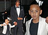 Jay-Z takes Blue Ivy Carter out to her first public event ever in New York City at the CFDA Awards  Pictured: Jay-Z, Blue Ivy Carter Ref: SPL1296631  060616   Picture by: Jackson Lee / Splash News  Splash News and Pictures Los Angeles: 310-821-2666 New York: 212-619-2666 London: 870-934-2666 photodesk@splashnews.com