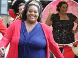 23 May 2016 - London - UK\nThis Morning's Alison Hammond seen outisde the ITV Studios with dancers, soldiers & a King.\nBYLINE MUST READ : XPOSUREPHOTOS.COM\n***UK CLIENTS - PICTURES CONTAINING CHILDREN PLEASE PIXELATE FACE PRIOR TO PUBLICATION ***\n**UK CLIENTS MUST CALL PRIOR TO TV OR ONLINE USAGE PLEASE TELEPHONE   44 208 344 2007 **