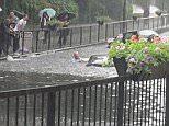 Floods in Wallington, Surrey