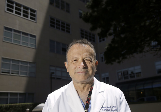 Dr. Peter Stock poses for photos on the University of California, San Francisco Medical Center campus in San Francisco, Friday, May 27, 2016. California lawm...
