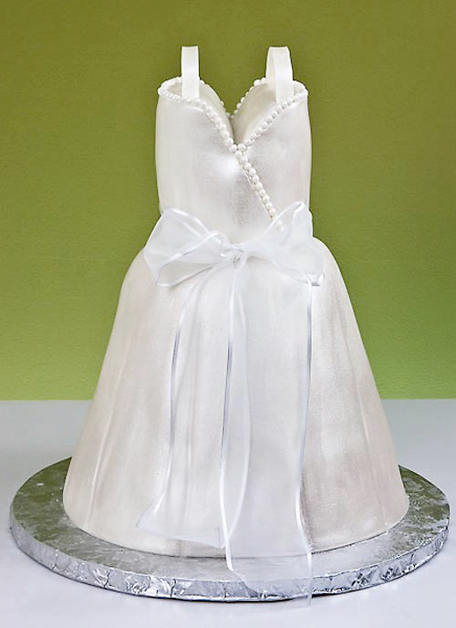 Wedding Dress Cakes