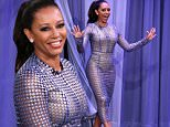 THE TONIGHT SHOW STARRING JIMMY FALLON -- Episode 0482 -- Pictured: Television personality Mel B on June 6, 2016 -- (Photo by: Andrew Lipovsky/NBC/NBCU Photo Bank via Getty Images)