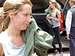 *EXCLUSIVE* Beverly Hills, CA - A barefaced Ashley Tisdale handles some errands after a workout in Beverly Hills.\n \n AKM-GSI June 7, 2016\nTo License These Photos, Please Contact :\nMaria Buda\n(917) 242-1505\nmbuda@akmgsi.com\nsales@akmgsi.com\nor \nMark Satter\n (317) 691-9592\n msatter@akmgsi.com\n sales@akmgsi.com\n www.akmgsi.com\n