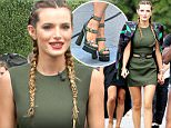Bella Thorne seen at Universal studios where she was interviewed by Mario Lopez for television show Extra\nFeaturing: Bella Thorne\nWhere: Los Angeles, California, United States\nWhen: 07 Jun 2016\nCredit: Michael Wright/WENN.com