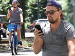 Picture Shows: Leonardo DiCaprio  June 07, 2016\n \n Actor Leonardo DiCaprio and a friend are spotted out for a bike ride on a hot summer day in New York City, New York. Leonardo could be seen texting on his phone and not paying attending to where he was going while riding his bike.\n \n Non Exclusive\n UK RIGHTS ONLY\n \n Pictures by : FameFlynet UK © 2016\n Tel : +44 (0)20 3551 5049\n Email : info@fameflynet.uk.com