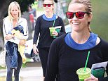 Brentwood, CA - Reese Witherspoon enjoys a green juice after working out with a friend. The two sporty looking ladies are seen chatting and giggling as they make their way to the car.\n  \nAKM-GSI       June 6, 2016\nTo License These Photos, Please Contact :\nMaria Buda\n(917) 242-1505\nmbuda@akmgsi.com\nsales@akmgsi.com\nMark Satter\n(317) 691-9592\nmsatter@akmgsi.com\nsales@akmgsi.com