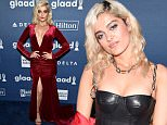 NEW YORK, NY - MAY 14: Performer Bebe Rexha attends the 27th Annual GLAAD Media Awards in New York on May 14, 2016 in New York City.  (Photo by Dimitrios Kambouris/Getty Images for GLAAD)