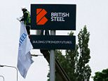 The new British Steel sign is unveiled at the main entrance at the newly-branded British Steel steelworks plant in Scunthorpe, which Greybull Capital bought from India's Tata Steel, in Scunthorpe northeast England on June 1, 2016.  India's Tata Steel on June 1, 2016 completed the part-sale of its European assets, safeguarding 4,800 jobs, but thousands more are threatened with no buyer found for the rest of the business. Tata Steel UK announced completion of the sale of its European piping business to Greybull Capital, a British-based family investment firm for an undisclosed sum. The deal, hailed by Tata, the British government and unions, means the return of the British Steel brand for the first time since 1999.   / AFP PHOTO / Lindsey ParnabyLINDSEY PARNABY/AFP/Getty Images