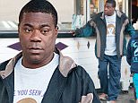 """06/06/2016\nTracy Morgan spotted on the set of """"The Clapper"""" in LosAngeles. The 47 year old actor and comedian joined Amanda Seyfried and Ed Helms on the set of the quirky project today. The Clapper tells the story of a professional TV clapper played by Ed Helms. The unusual job grabs the attention of a late-night TV host who exploits the clapper on his show. \nPlease byline:TheImageDirect.com"""