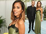 LONDON, ENGLAND - JUNE 07:  Marvin Humes (L) and Rochelle Humes attend the Glamour Women Of The Year Awards in Berkeley Square Gardens on June 7, 2016 in London, United Kingdom.  (Photo by David M. Benett/Dave Benett/Getty Images)