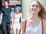 06.June.2016 - Studio City - USA\n**EXCLUSIVE ALL ROUND PICTURES**\n*** STRICTLY AVAILABLE FOR UK AND GERMANY USE ONLY ***\nLily-Rose Depp, 16, and rumored boyfriend Ash Stymest, 24, arrive at their favorite eatery in Studio City, along with a few friends and bodyguard. Rose and the English male model first sparked romance rumors during a break to the European city in October, today, they seemed happy and very comfortable with each other.\nBYLINE MUST READ : AKM-GSI-XPOSURE\n***UK CLIENTS - PICTURES CONTAINING CHILDREN PLEASE PIXELATE FACE PRIOR TO PUBLICATION ***\n*UK CLIENTS MUST CALL PRIOR TO TV OR ONLINE USAGE PLEASE TELEPHONE 0208 344 2007*\n