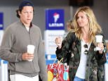 EXCLUSIVE: Heidi Klum and Vito Schnabel arrive at JFK airport in NYC.  Pictured: Vito Schnabel and Heidi Klum Ref: SPL1296276  060616   EXCLUSIVE Picture by: Ron Asadorian / Splash News  Splash News and Pictures Los Angeles: 310-821-2666 New York: 212-619-2666 London: 870-934-2666 photodesk@splashnews.com