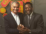 josemourinho An honour to host Pele at my new house