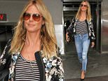 Los Angeles, CA - Former supermodel Heidi Klum returns to LA after attending the 2016 CFDA Awards in NYC last night.\nAKM-GSI          June 7, 2016\nTo License These Photos, Please Contact :\nMaria Buda\n(917) 242-1505\nmbuda@akmgsi.com\nsales@akmgsi.com\nor \nMark Satter\n(317) 691-9592\nmsatter@akmgsi.com\nsales@akmgsi.com