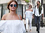 6 June 2016 - London *PREMIUM EXCLUSIVE - MUST CALL FOR PRICING BEFORE USAGE* 'Made in Chelsea' star Hugo Taylor and girlfriend Millie Mackintosh pictured hand in hand after leaving the trendy ivy restaurant in Chelsea. Byline Must Read: XPOSUREPHOTOS.COM ** UK clients please pixelate children's faces prior to publication** For content licensing please contact: Xposure Photos pictures@xposurephotos.com  44 (0) 208 344 2007