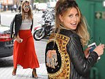 7 June 2016. Ferne McCann is pictured arriving at BBC Radio 1. Credit: Eade/Warner/GoffPhotos.com   Ref: KGC-102/195