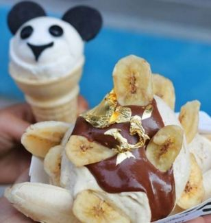 Uh-huh honey: This Bound 2 Banana Split, named after Kanye's song Bound 2, is another popular item