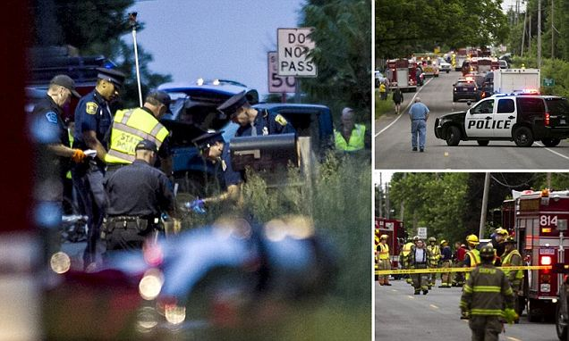 Five cyclists killed and another four being treated in hospital after hit-and-run crash in