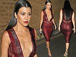 Kourtney Kardashian is seen here as she arrives back at her London Hotel after attending The 2016 Glamour Women Of the Year Awards held in Berkley Square in Mayfair, London.  Pictured: Kourtney Kardashian Ref: SPL1297494  070616   Picture by: WeirPhotos / Splash News  Splash News and Pictures Los Angeles: 310-821-2666 New York: 212-619-2666 London: 870-934-2666 photodesk@splashnews.com