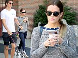 Actress Riley Keogh drinks coffee while her boyfriend Ben Sherman-Petersen walks their dog in New York City on June 7, 2016.\n\nPictured: Riley Keough\nRef: SPL1297203  070616  \nPicture by: Christopher Peterson/Splash News\n\nSplash News and Pictures\nLos Angeles: 310-821-2666\nNew York: 212-619-2666\nLondon: 870-934-2666\nphotodesk@splashnews.com\n